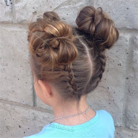 girl hairstyles bun 40 cool hairstyles for little girls on any occasion