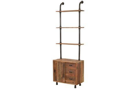 Narrow Wall Shelving Unit Constantine Narrow Console With Shelving Wall Unit Marco