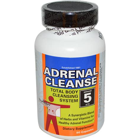 Adrenal Detox Program by Health Plus Inc Adrenal Cleanse Total Cleansing