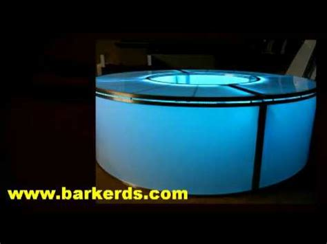 acrylic bar top illuminated bar plexiglass translucent acrylic plastic for