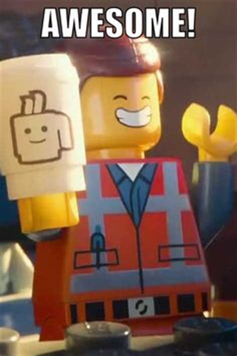 The Lego Movie Meme - lego movie minifig scene print quot everything is awesome
