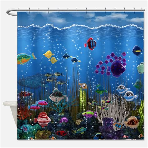 underwater shower curtain underwater shower curtains underwater fabric shower