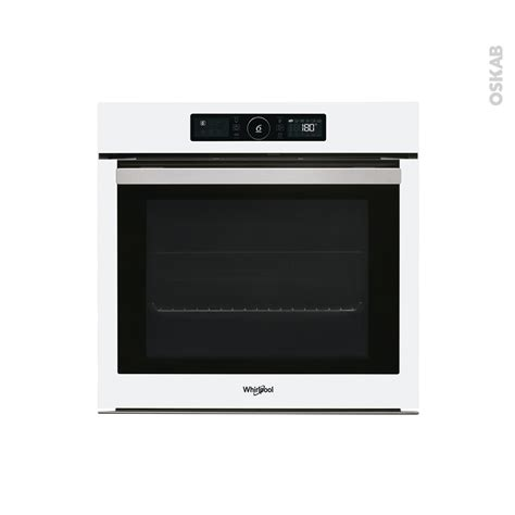 Four Multifonction Whirlpool 1963 by Four Multifonction Pyrolyse 73l Blanc Whirlpool Akz96290wh