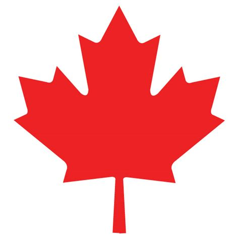 Canada Maple Leaf Outline by Canadian Maple Leaf Vector Clipart Best