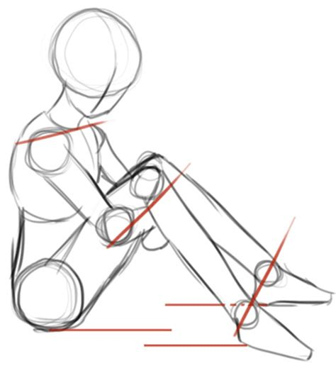 Anime Sitting Outline by How To Draw Kagome Higurashi From Inuyasha With Easy Steps Tutorial How To Draw Step By