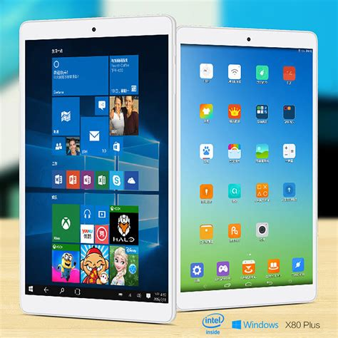 Tablet Teclast X80 Pro Dual Os Win10 Dan Android 5 1 Fhd 1920x1200 teclast x80 plus 8 inch win10 android5 1 2gb 32gb tablet pc