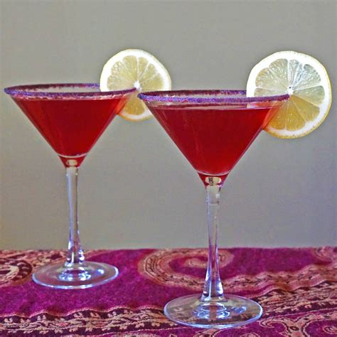 martini pomegranate pomegranate limoncello martinis food