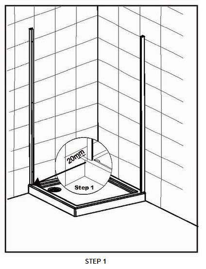 how to fit a shower door bath and shower news