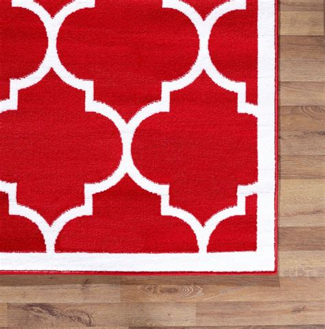 Large Modern Rug Large Modern Geometric Moroccan Trellis Thin Carpet Contemporary Area Rug Ebay