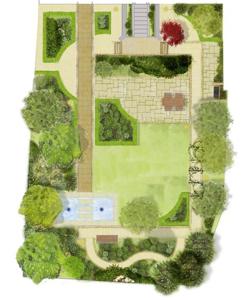 Gartengestaltung Planen by Garden Design Drawing Www Pixshark Images