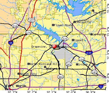 grapevine map
