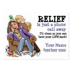 house cleaning business card exles house cleaning business card zazzle