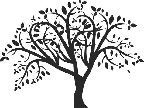 printable family tree stencil how to draw a tree free printable tree stencils 16 pics