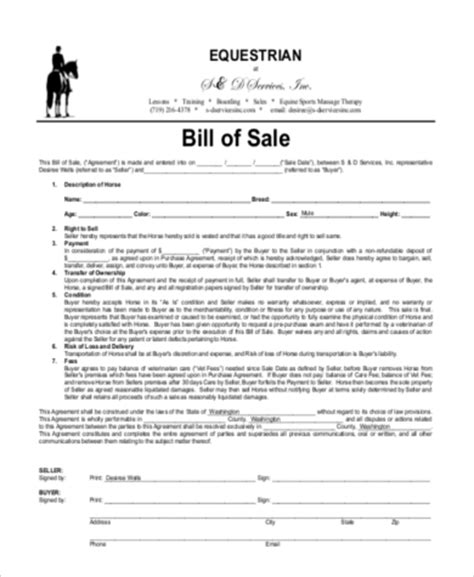 bill of sales bill of sale template firearm bill of sale