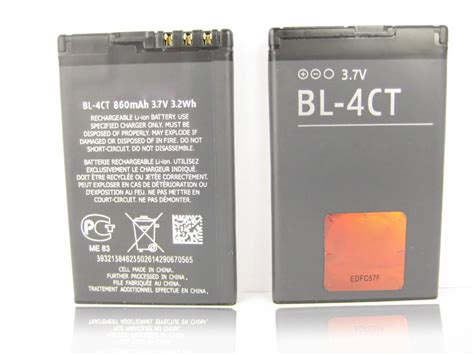 Baterai Battery Bl 4ct Nokia 5310 6700s 7210 Vizz Power Origina original bl 4ct bl 4ct 4ct battery for nokia x3 7210 supernova 5310 xpress 6600 2720 fold