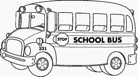 bus safety coloring book coloring pages