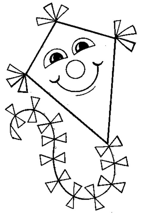 printable coloring pages kites free coloring pages of kite