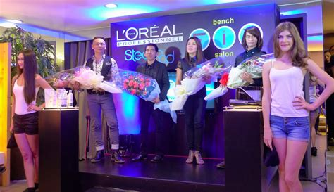 bench fix glorietta l oreal professionel steod get ready for