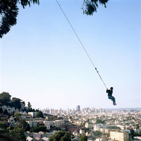 rope swing san francisco rope swing over san francisco the crestock photography