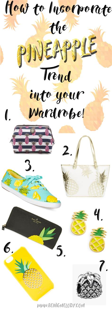 pineapple trend how to incorporate the pineapple trend into your wardrobe