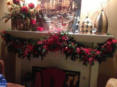 Fireplace Garlands Uk by Fireplace Garland In Den