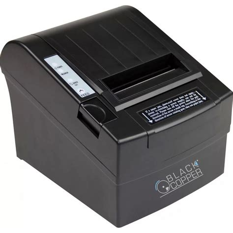 Printer Thermal black copper turbo thermal receipt printer bc 85ac