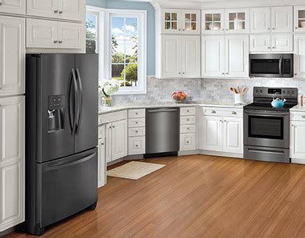 Stainless Steel Or Black Kitchen Appliances by Frigidaire Gallery Black Stainless Steel Appliances