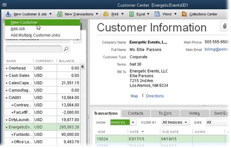 Quickbooks Customer Letter Templates Quickbooks Customer Balance Detail Report Customer