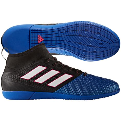 adidas ace 17 3 primemesh in indoor 2017 soccer cleats shoes black blue white ebay
