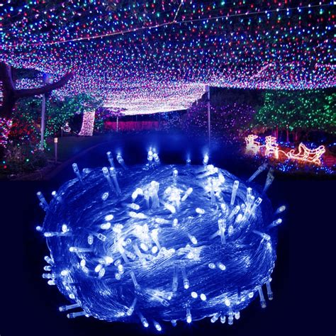 electric 500leds fairy string lights garden christmas