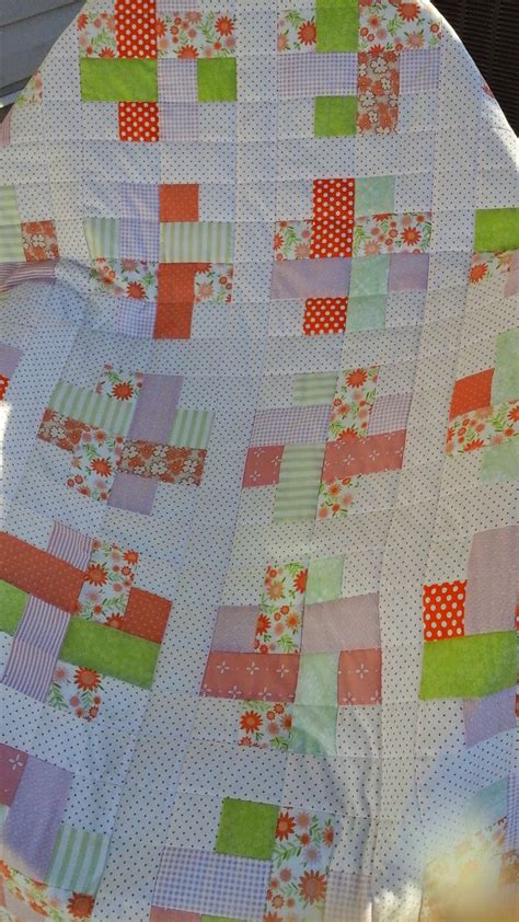 Woven Quilt by Lo Me Woven Blocks Baby Quilt