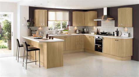 photo cuisine en bois cuisine en bois massif moderne maison moderne