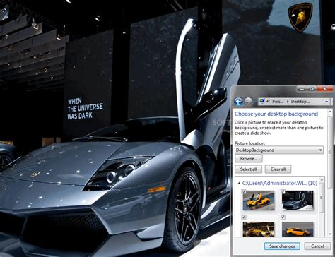 Lamborghini Windows 7 Theme Lamborghini Murcielago Lp 670 4 Superveloce Windows 7