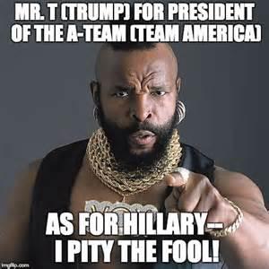 I Pity The Fool Meme - mr t pity the fool meme imgflip