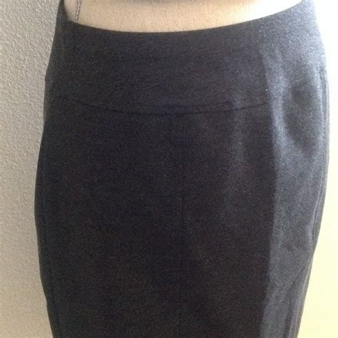 tracy tracy charcoal grey pencil skirt from