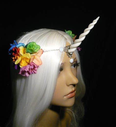 Handmade Unicorn - rainbowblossom unicorn handmade unicorn tiara by