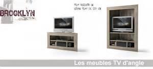 meuble tv angle design salon 9 meuble tv blanc