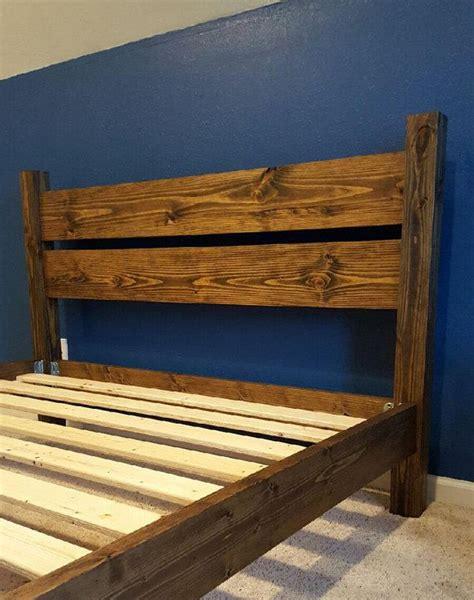 simple wood platform bed 25 best ideas about solid wood platform bed on pinterest