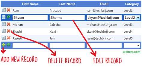 insertupdatedelete in asp net mvc 5 without entity html5 editable gridview brokeasshome com