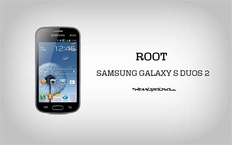 root samsung galaxy s duos 2 gt s7582 using pre rooted firmware