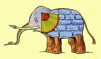The Elephant And The Blind Men Blind Republican Leaders Amp The Elephant Forward Now