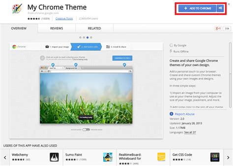 create theme for google chrome online how to create my own google chrome theme gui tricks in
