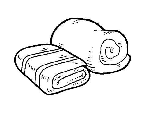 disegni bagno disegno di asciugamani da bagno da colorare acolore