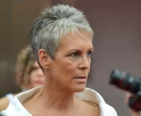 curtis hairstyle front and back view gray hairstyles jamie lee curtis hairstyle hairstyles ideas