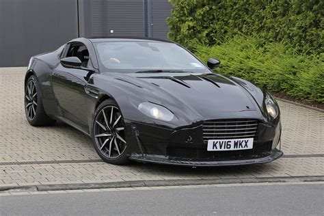 first aston martin amg powered aston martin vantage first spy shots gtspirit