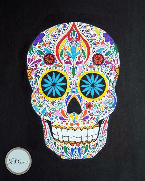 sugar skull the gallery for gt colorful sugar skull drawings