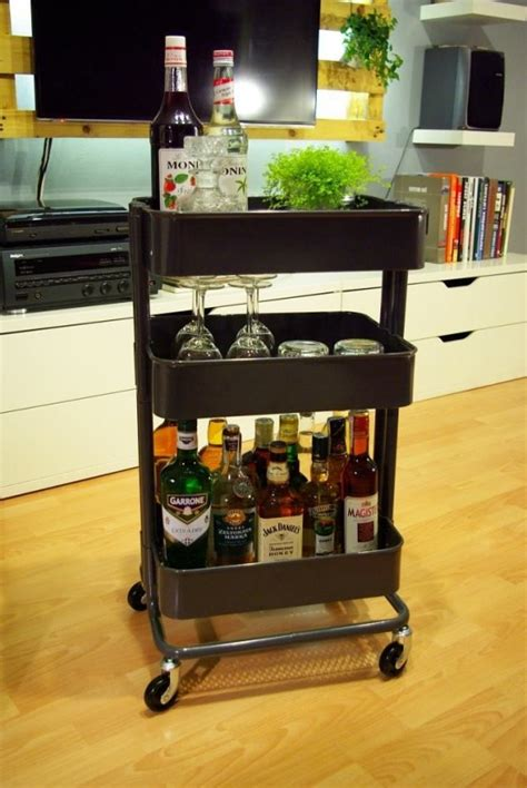 ikea cart raskog 60 smart ways to use ikea raskog cart for home storage digsdigs