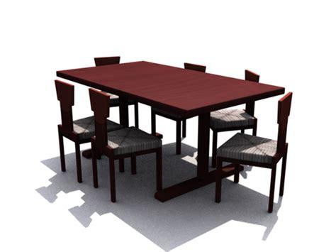 mesas de madera oscura  sillas de comedor home  modelo