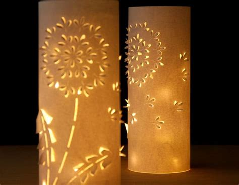 How To Make Paper Lanterns For Candles - make paper lanterns inspired by dandelions a of rainbow