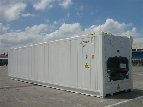 Freezer Container new energy efficient refrigerated shipping containers